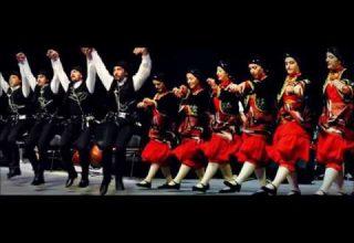 Trabzon'da Muhteşem Horon Gösterisi