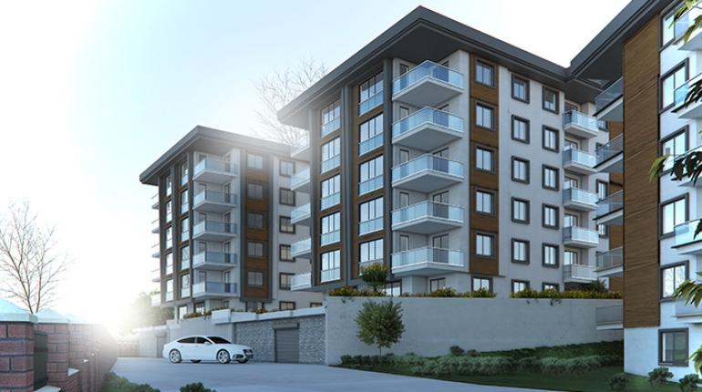 Trabzon İnşaat Şirketleri | Bostancı 1461 Teras Evleri C Blok 17 Nolu 3+1 Daire