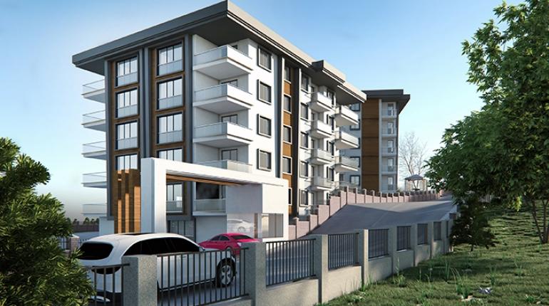 Trabzon İnşaat Şirketleri   Bostancı 1461 Teras Evleri B Blok 4 Nolu 3+1 Daire