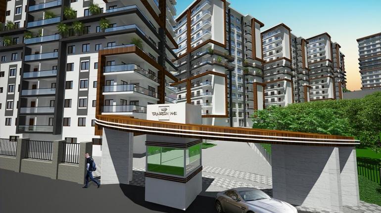 Trabzon Satılık Daire | 1461 Rezidans – F Blok – 12. Kat – Kuzeybatı