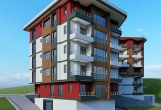 Trabzon Satılık Daire | 1461 Kalkınma Evleri 1+1 Daire
