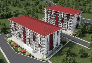 Trabzon Satılık Daire / 1461 Üniversite Evleri 1+1